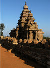 View of Shore Temple